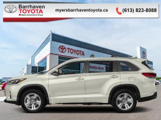 New 2019 Toyota Highlander Limited AWD  - Navigation - $321 B/W for sale in Ottawa, ON