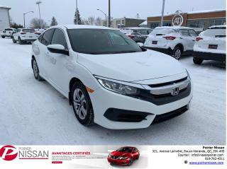 Used 2016 Honda Civic LX for sale in Rouyn-Noranda, QC