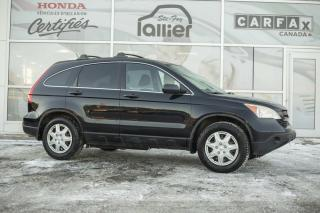 Used 2008 Honda CR-V LX AWD ***UN SEUL PROPRIETAIRE*** for sale in Québec, QC