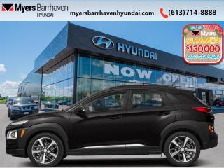 New 2020 Hyundai KONA 2.0L Luxury AWD  - Leather Seats - $185 B/W for sale in Nepean, ON