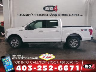 Used 2016 Ford F-150 XLT | Cloth | Steering Audio Controls | USB for sale in Calgary, AB