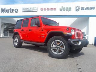 New 2020 Jeep Wrangler Unlimited Sahara for sale in Ottawa, ON