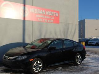 Used 2018 Honda Civic Sedan LX/HEATED SEATS/BACKUP CAM for sale in Edmonton, AB