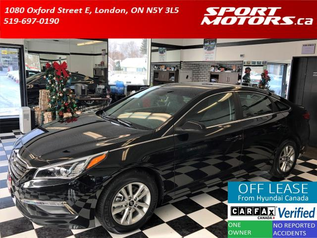 2016 Hyundai Sonata GL+Camera+Heated Seats+New Tires+Accident Free