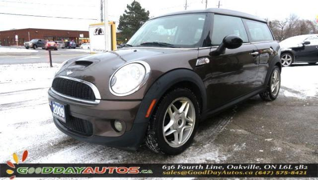 2009 MINI Cooper Clubman S|LOW KM|NO ACCIDENT|PUSHSTART|BLUETOOTH|CERTIFIED