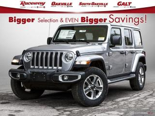New 2020 Jeep Wrangler Unlimited Sahara for sale in Etobicoke, ON