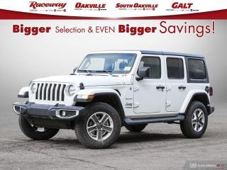 New 2020 Jeep Wrangler Unlimited Sahara for sale in Etobicoke, ON