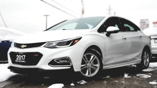Used 2017 Chevrolet Cruze LT RS   HEATED SEATS   BACK UP CAM   POWER OPTIONS PUSH START   BLUETOOTH PWRSEATS HEATED SEATS  for sale in Mississauga, ON