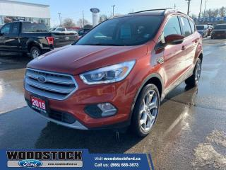 Used 2019 Ford Escape Titanium 4WD  COMPANY DEMO - LOADED for sale in Woodstock, ON