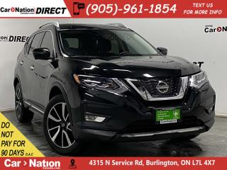 Used 2017 Nissan Rogue SL Platinum| AWD| LEATHER| PANO ROOF| NAVI| for sale in Burlington, ON