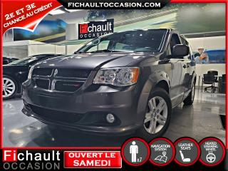 Used 2018 Dodge Grand Caravan Crew Plus  **** CUIR *** NAV*** for sale in Châteauguay, QC