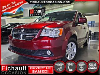 Used 2018 Dodge Grand Caravan Crew Plus ***NAV*** CUIR*** for sale in Châteauguay, QC
