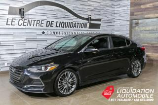 Used 2018 Hyundai Elantra SPORT TECH+TOIT+MAGS+GPS+CUIR for sale in Laval, QC