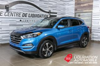 Used 2016 Hyundai Tucson Limited+cuir+toit+mags+awd for sale in Laval, QC