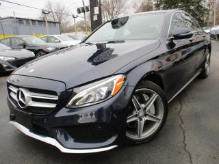 Used 2016 Mercedes-Benz C-Class C300 4MATIC|AMG PKG|ONE OWNER|NAVI|64,000KMS !! for sale in Burlington, ON