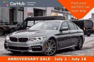 Used 2017 BMW 5 Series 540i xDrive MStyling HK Sound HeadsUp Display Nav Sunroof AppleCarP for sale in Thornhill, ON