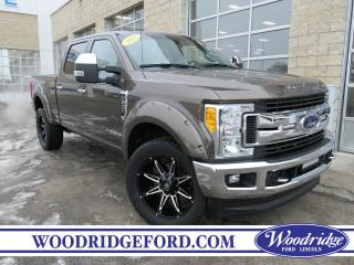 Used 2017 Ford F-250 XLT 6.7L, KELDERMAN LIFT, CLOTH PWR. SEATS, NAVIGATION, REMOTE START. for sale in Calgary, AB
