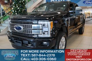 New 2019 Ford F-350 Platinum Ask about our $899 Lease Deal! for sale in Okotoks, AB