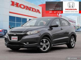Used 2018 Honda HR-V EX PUSH BUTTON START | BRAKE HOLD | MULTI-ANGLE REARVIEW CAMERA for sale in Cambridge, ON