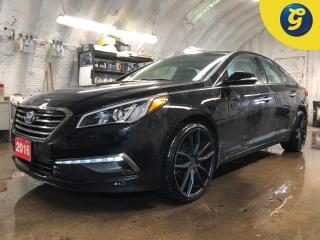 Used 2016 Hyundai Sonata Power sunroof *  20 Inch RUFFINO black alloy rims * Rear cross traffic alert * Blind spot detection * Rear park assist * Reverse camera * Front heated for sale in Cambridge, ON