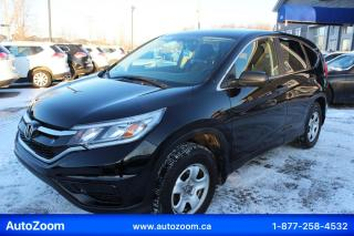 Used 2015 Honda CR-V LX*OUVERT*PROPRE ET SÉCURITAIRE! for sale in Laval, QC