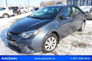 Used 2016 Toyota Corolla LE **CAMERA** FINANCEMENT FACILE !! for sale in Laval, QC