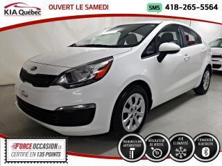 Used 2016 Hyundai Accent LX+* AT* A/C* CECI EST UN KIA RIO* for sale in Québec, QC