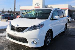 Used 2016 Toyota Sienna SE CUIR SIEGES CHAUFFANTS CAMÉRA DE RECUL for sale in St-Basile-le-Grand, QC