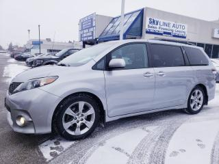 Used 2013 Toyota Sienna SE 8 Passenger 8 PASSENGER|LEATHER|CAMERA|NO ACCIDENTS|CERTIFIED for sale in Concord, ON