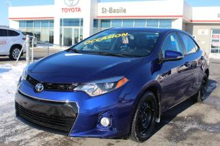 Used 2016 Toyota Corolla S TECH CUIR TOIT MAGS GPS SIEGES CHAUFFANTS for sale in St-Basile-le-Grand, QC