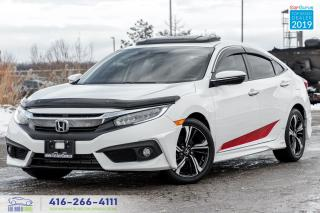 Used 2016 Honda Civic Touring Upgrades Certified Warranty 1Owner Finance for sale in Bolton, ON