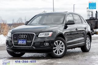 Used 2014 Audi Q5 Progressive+NaviGps Pano Roof Certified We Finance for sale in Bolton, ON