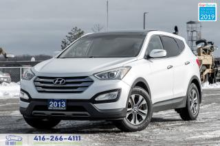 Used 2013 Hyundai Santa Fe AWD Luxury PanoRoof^Leather^RCam Certified Finance for sale in Bolton, ON