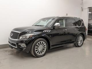 Used 2016 Infiniti QX80 LIMITED EDITION/NAV/DVD/ADAPTIVE CRUISE CONTROL! for sale in Toronto, ON