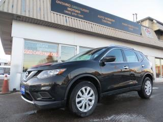 Used 2016 Nissan Rogue 4 WHEEL DRIVE,BACK UP CAMERA,HETAED SEATS,BLUETOOT for sale in Mississauga, ON