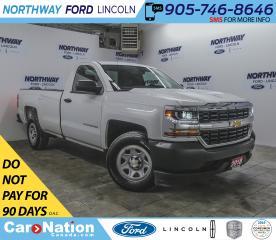 Used 2018 Chevrolet Silverado 1500 1500 | 5.3L V8 | BACKUP CAM | BED LINER | CRUISE | for sale in Brantford, ON