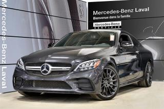 Used 2019 Mercedes-Benz C43 AMG 4MATIC Coupe for sale in Laval, QC