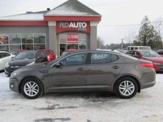 Used 2012 Kia Optima 4DR SDN LX+ for sale in Notre-Dame-Des-Prairies, QC