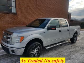 Used 2013 Ford F-150 XLT-supercrew-4x4-NO ACCIDENT for sale in Oakville, ON