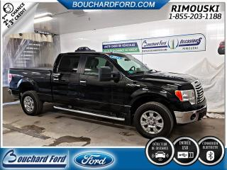 Used 2011 Ford F-150 XLT XTR CREW CAB 4X4 for sale in Rimouski, QC