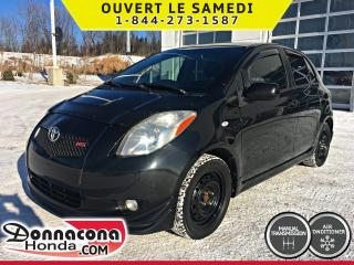 Used 2008 Toyota Yaris RS *SUPER PROPRE* for sale in Donnacona, QC