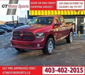 Used 2014 RAM 1500 SPORT 4WD for sale in Calgary, AB