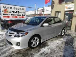 Used 2011 Toyota Corolla Berline 4 portes, boîte manuelle, S for sale in Montréal, QC