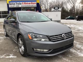Used 2014 Volkswagen Passat COMFORTLINE for sale in Beeton, ON