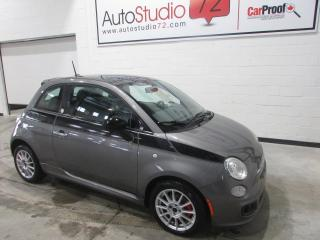 Used 2012 Fiat 500 SPORT MANUELLE **TOIT**MAGS** for sale in Mirabel, QC