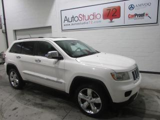 Used 2012 Jeep Grand Cherokee OVERLAND**4X4**DVD**TOIT PANO**CUIR for sale in Mirabel, QC