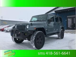 Used 2014 Jeep Wrangler Sahara * 2 toits* for sale in St-Agapit, QC