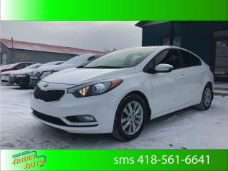 Used 2015 Kia Forte Lx+, sièges chauffants for sale in St-Agapit, QC