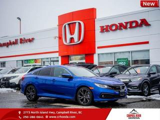 New 2020 Honda Civic Sedan Sport - Sunroof - Heated Seats - $197 B/W for sale in Campbell River, BC