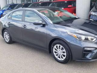 New 2020 Kia Forte LX; BLUETOOTH, BACKUP CAMERA, ANDROID AUTO/ APPLE CARPLAY AND MORE for sale in Edmonton, AB